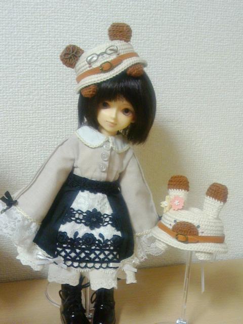 編みぐるみ帽子1