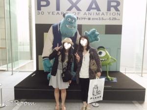 お出かけ(ピクサー展)02