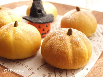 かぼちゃパン01