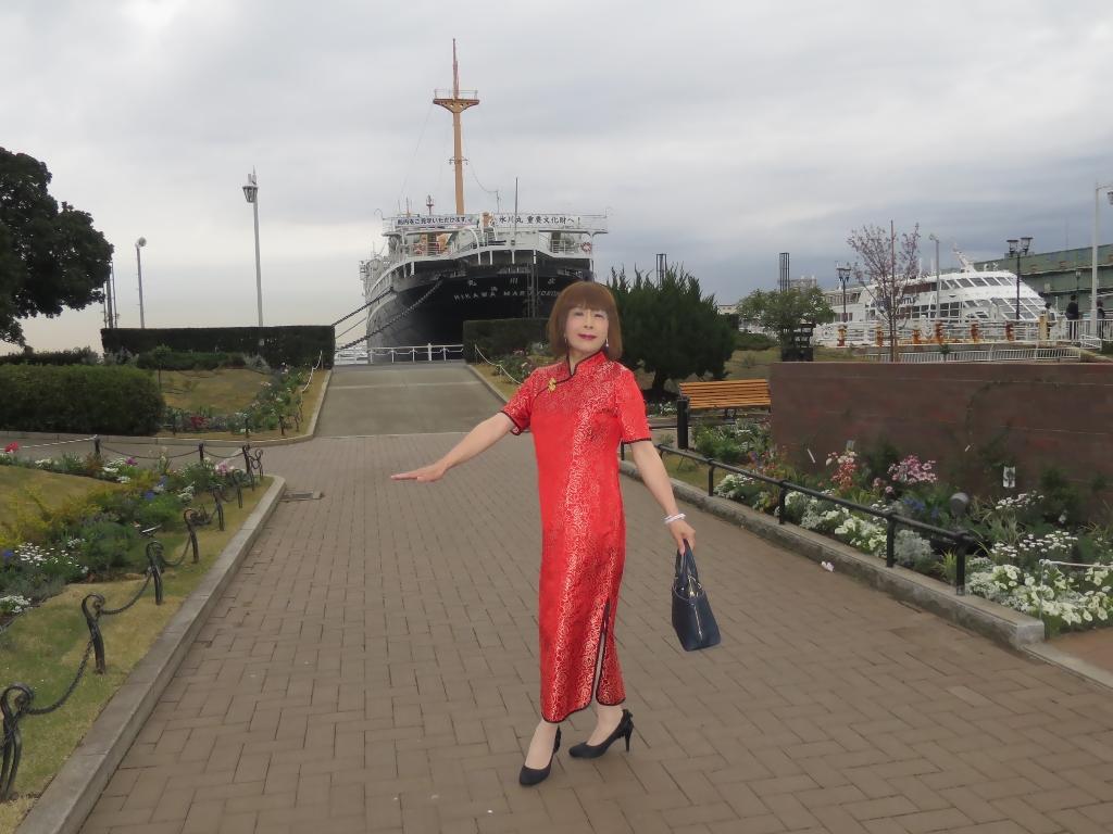 山下公園赤チャイナ服C(5)