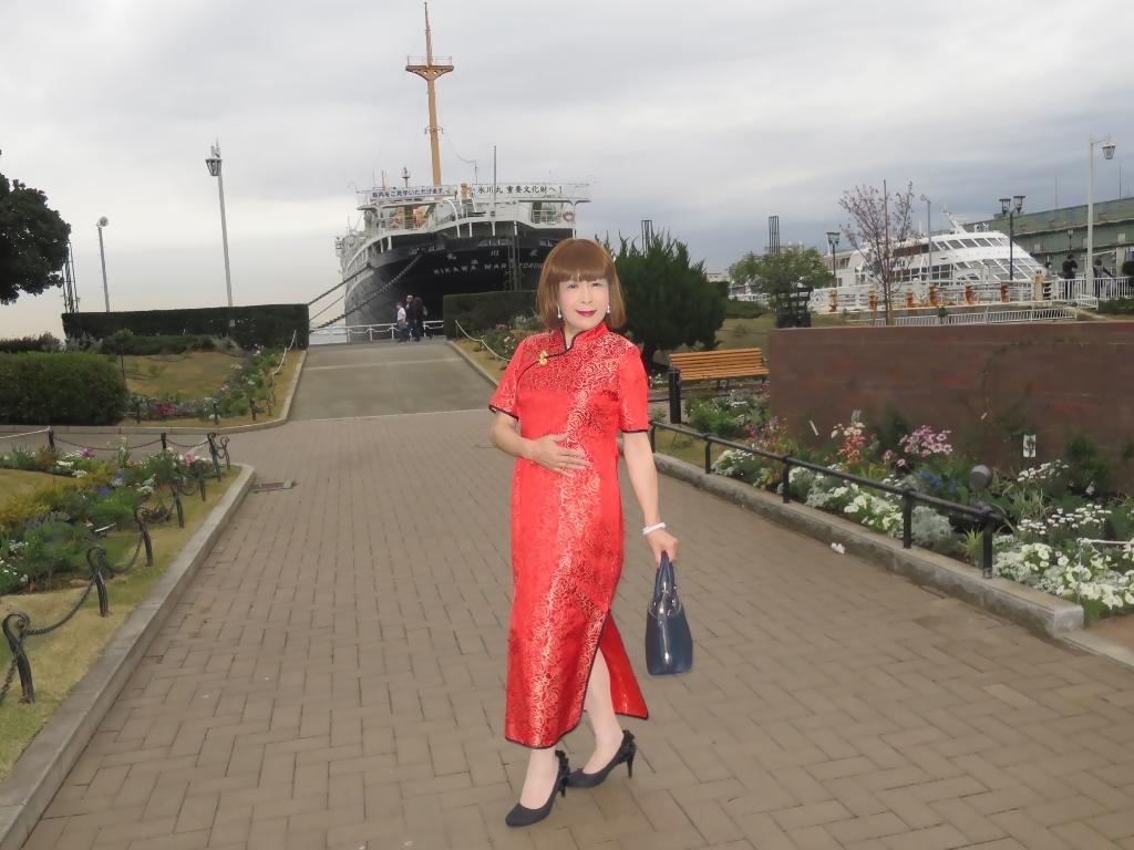 山下公園赤チャイナ服C(6)