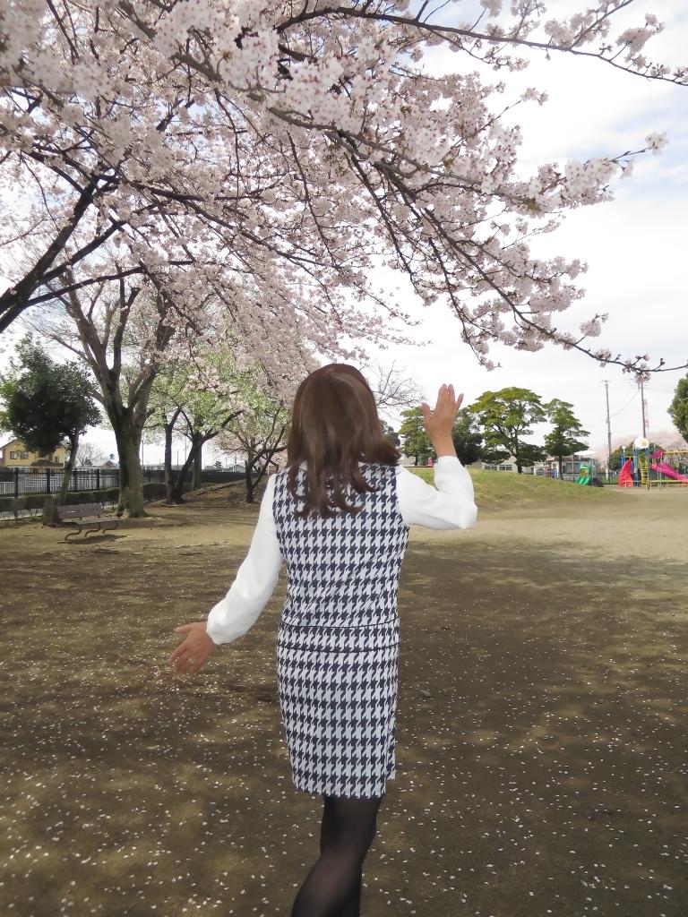 千鳥柄ジャンパースカートB(8)