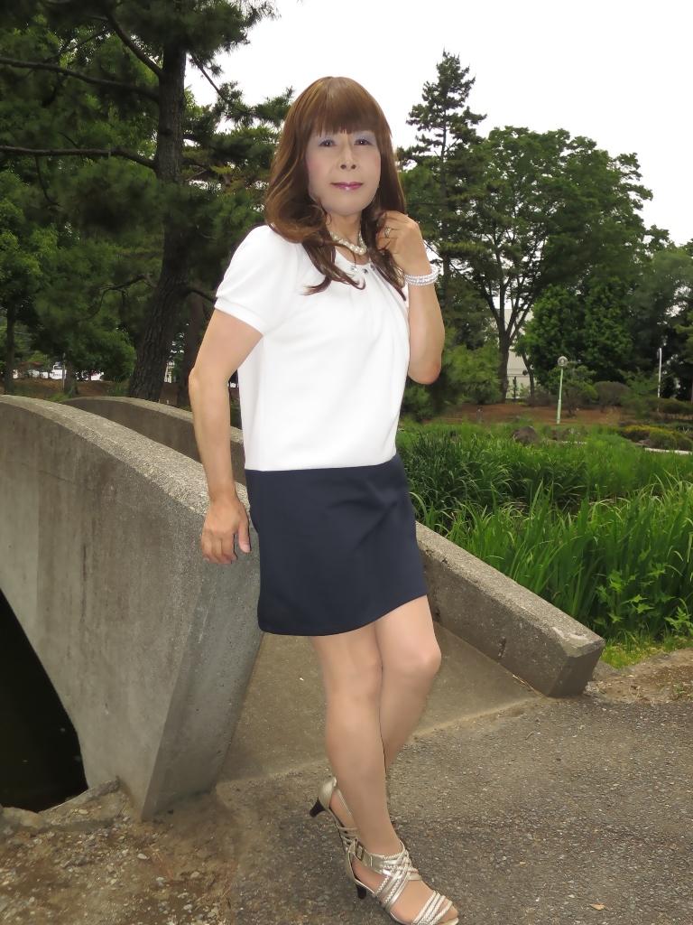 白裾紺チュニックA(1)