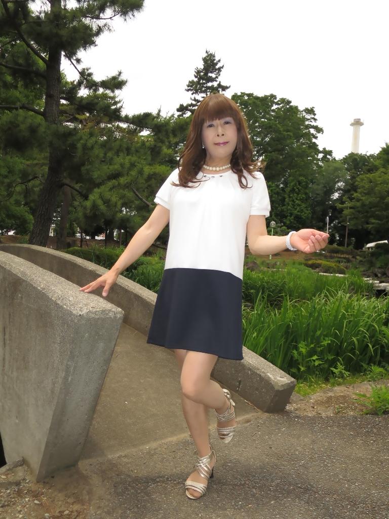 白裾紺チュニックA(2)