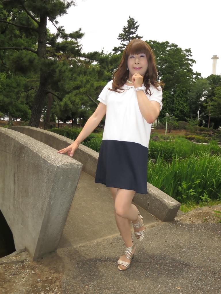 白裾紺チュニックA(3)