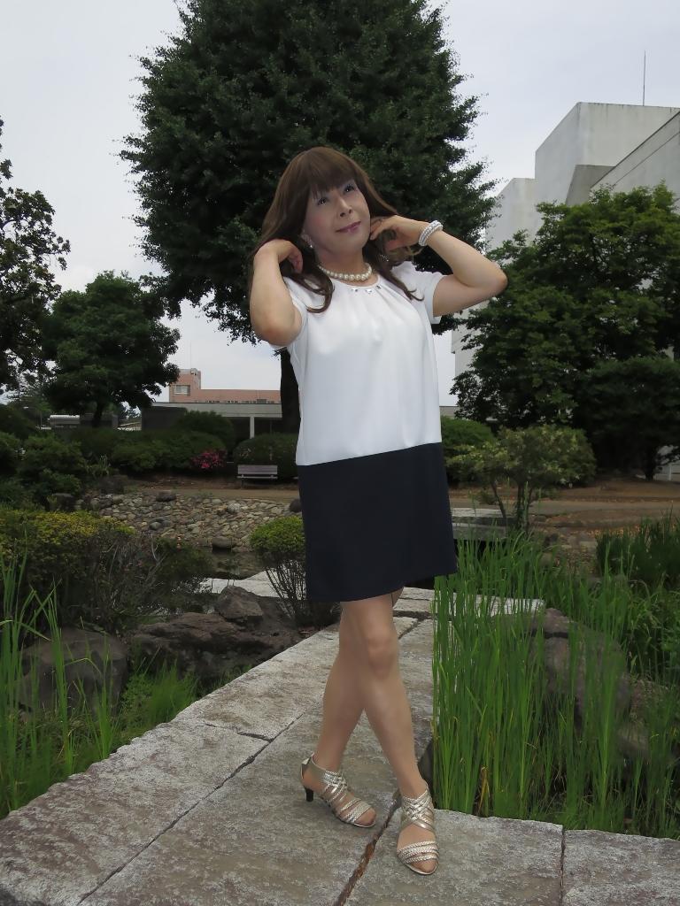 白裾紺チュニックA(4)