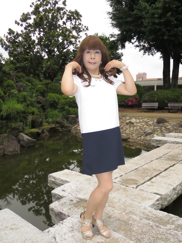 白裾紺チュニックB(2)