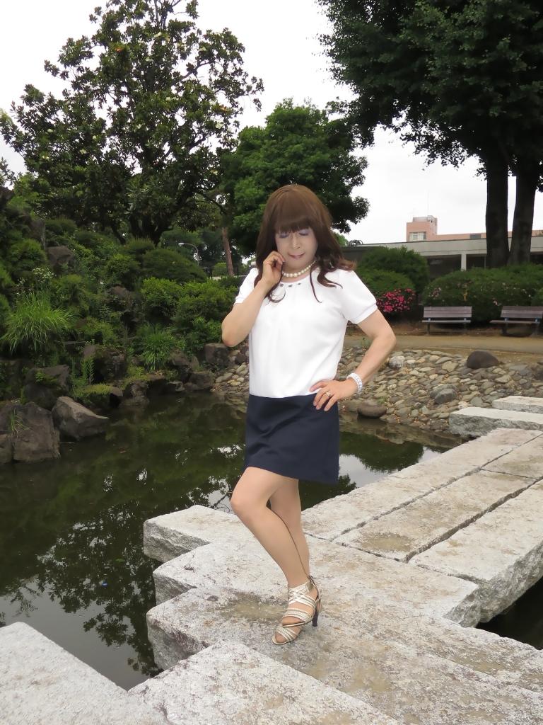 白裾紺チュニックB(4)