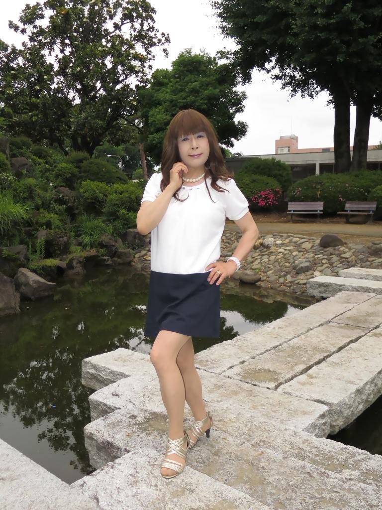白裾紺チュニックB(5)