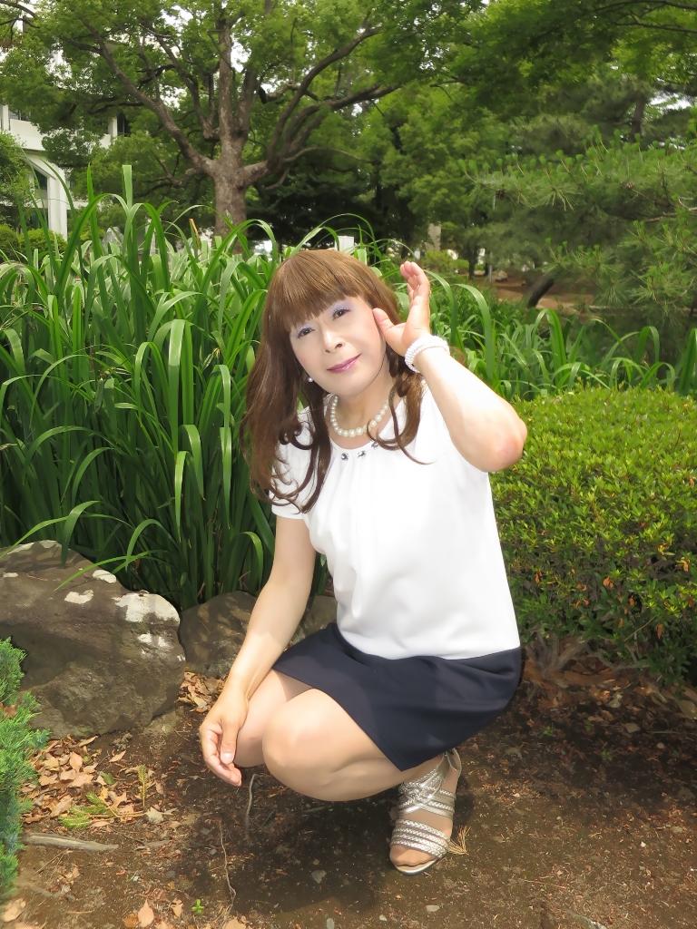 白裾紺チュニックC(3)