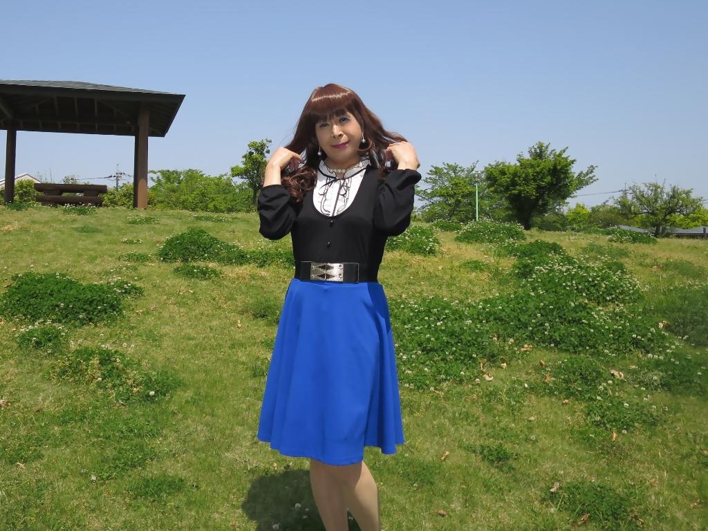 黒トップ青フレアB(3)