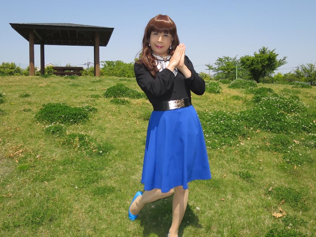 黒トップ青フレアB(4)