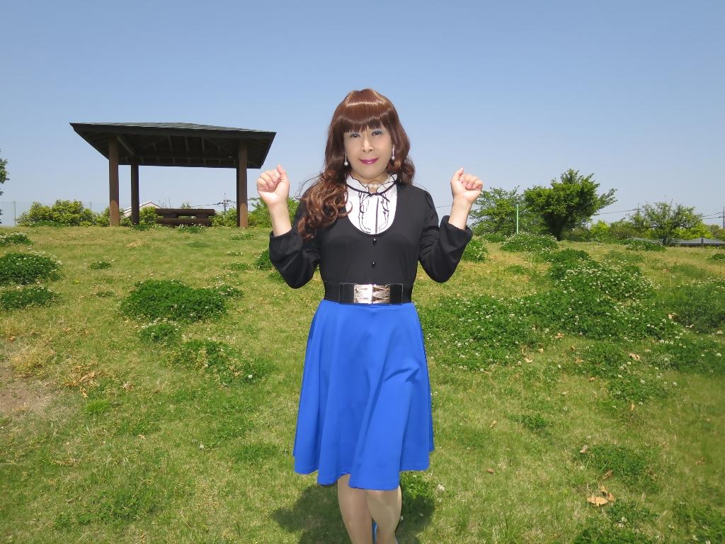 黒トップ青フレアB(5)