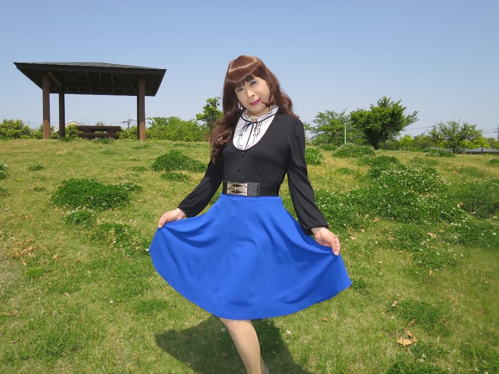 黒トップ青フレアB(6)