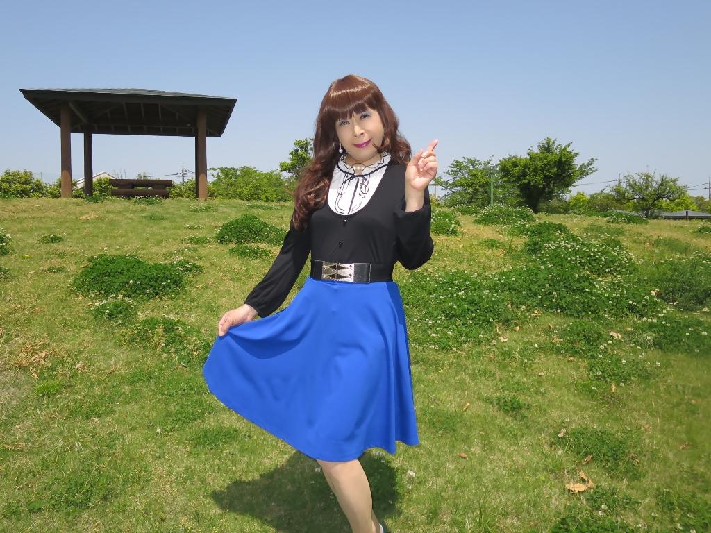 黒トップ青フレアB(7)