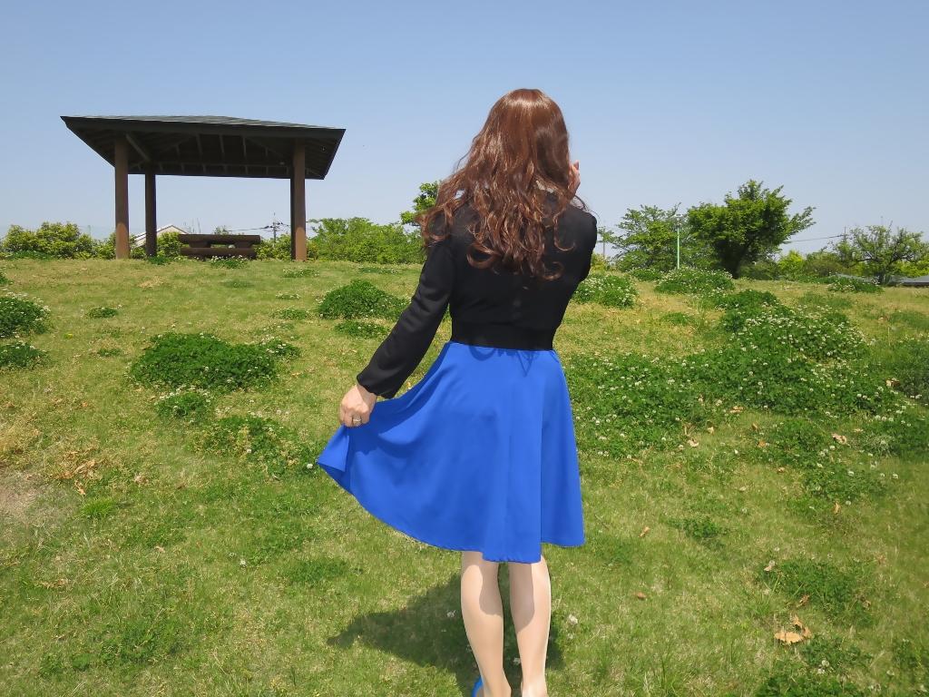黒トップ青フレアB(8)