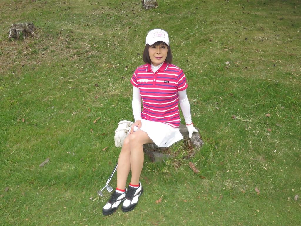 赤ボーダーポロゴルフA(6)