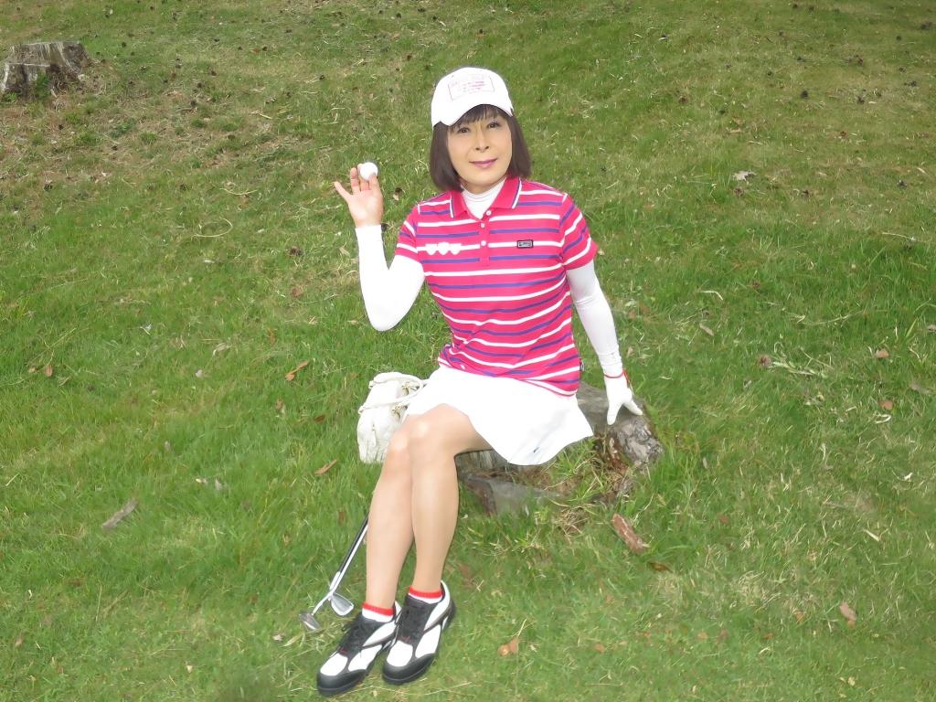 赤ボーダーポロゴルフA(7)