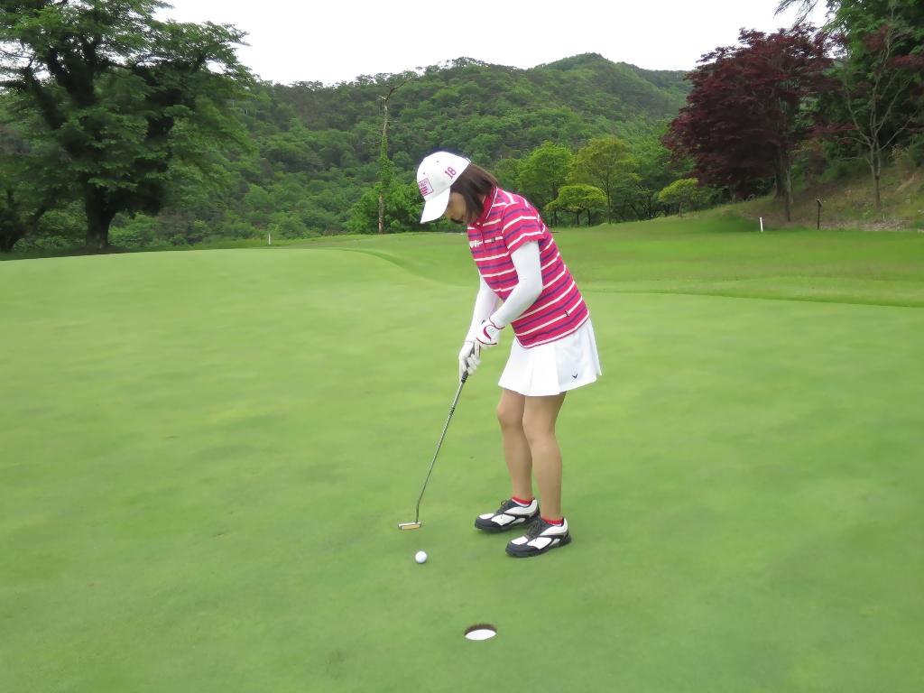 赤ボーダーポロゴルフE(5)