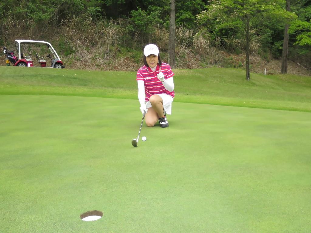 赤ボーダーポロゴルフE(7)