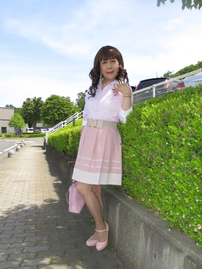 ピンクシャツスカートA(1)