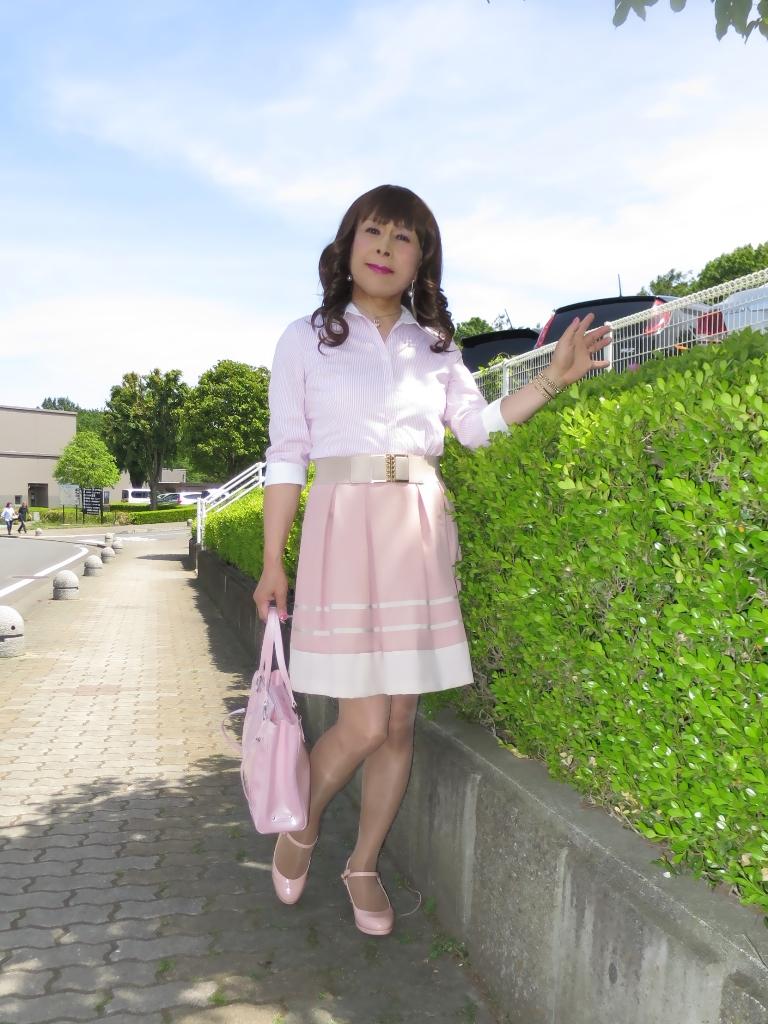 ピンクシャツスカートA(3)