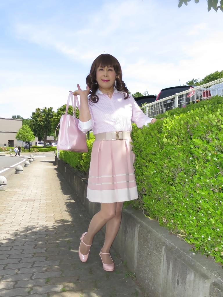 ピンクシャツスカートA(4)