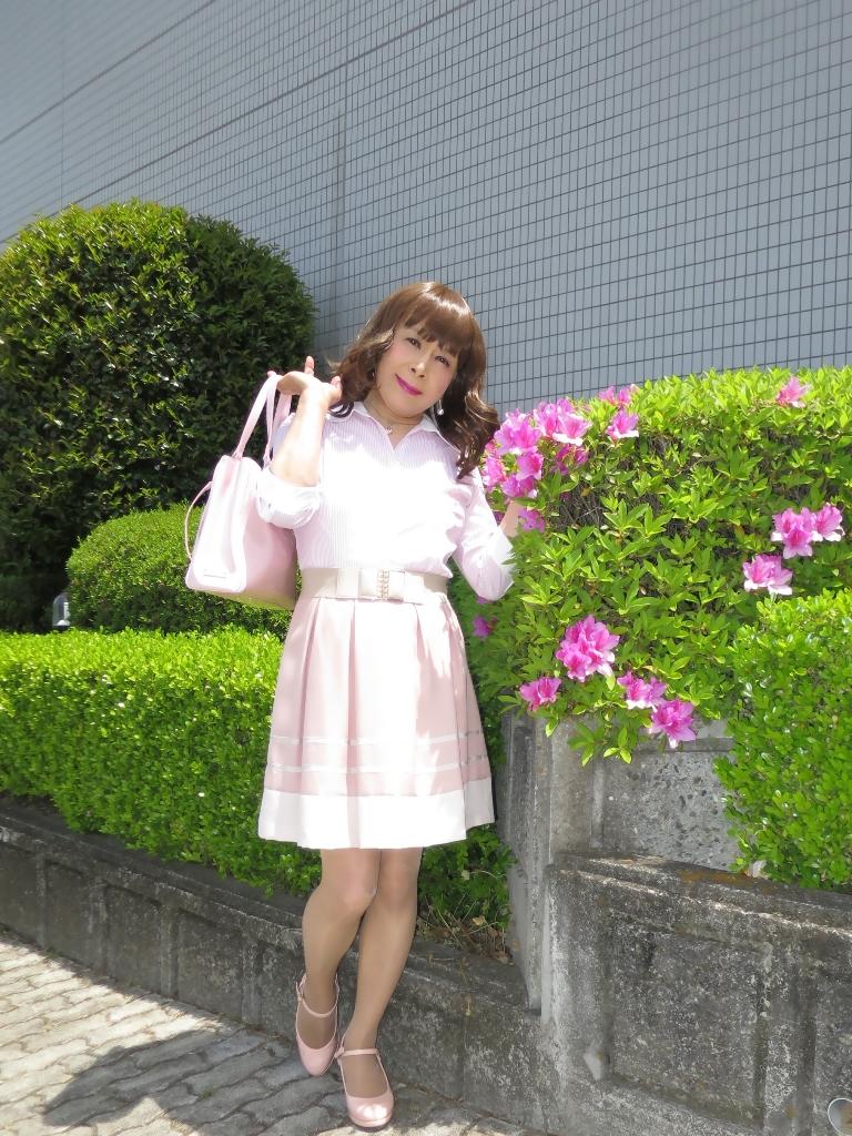 ピンクシャツスカートA(5)