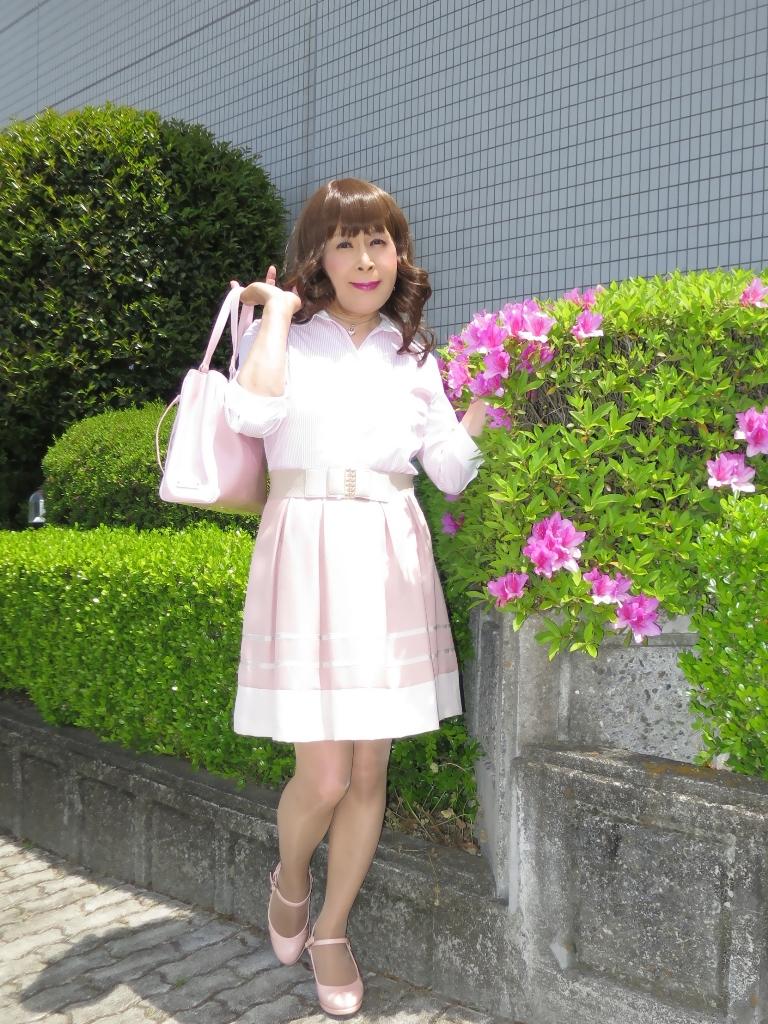 ピンクシャツスカートA(6)