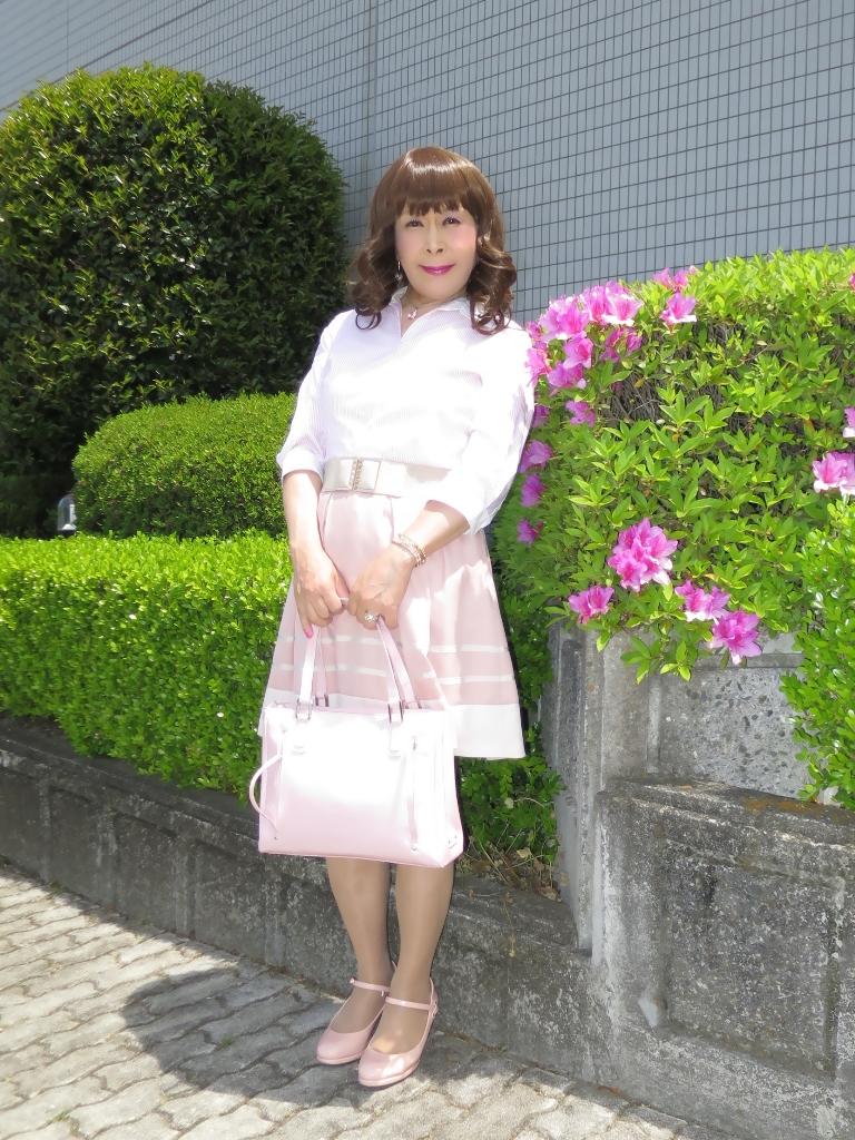 ピンクシャツスカートA(7)