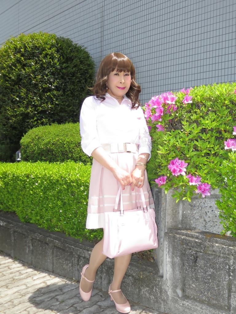 ピンクシャツスカートA(8)