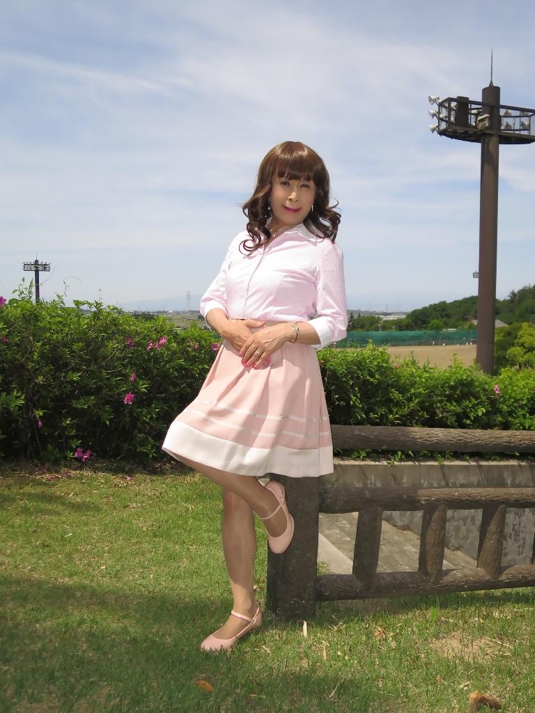 ピンクシャツスカートB(1)