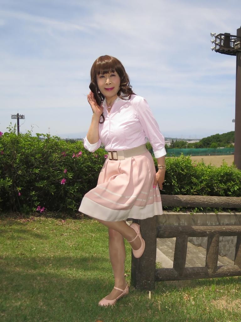 ピンクシャツスカートB(3)