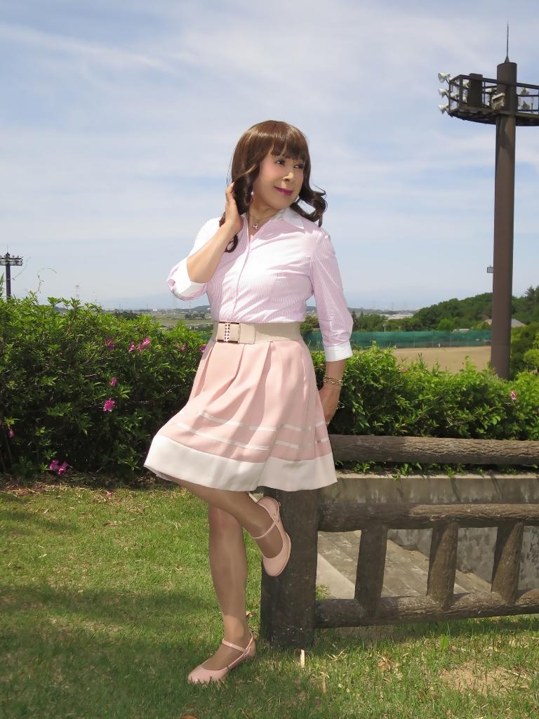 ピンクシャツスカートB(4)