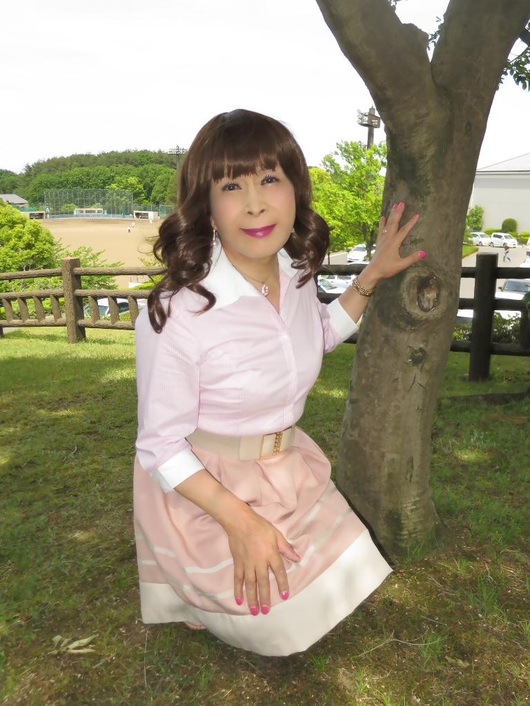 ピンクシャツスカートB(5)