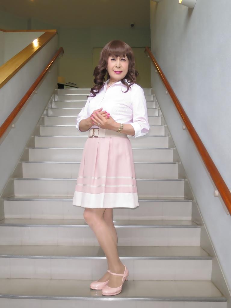 ピンクシャツスカートC(1)