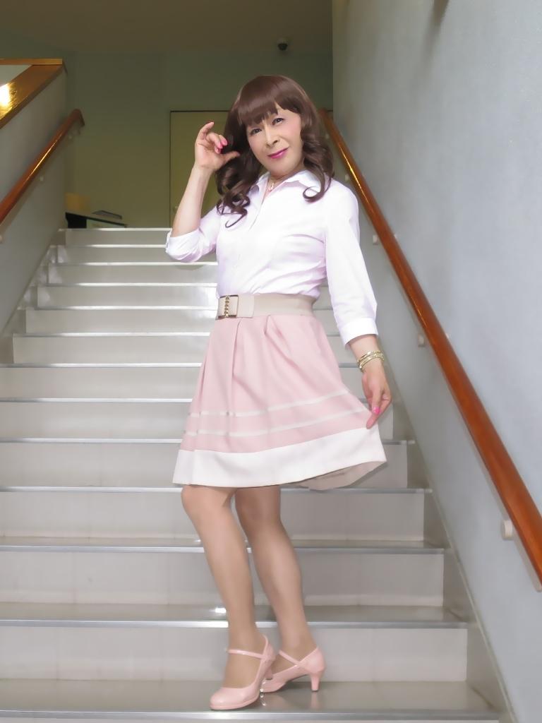 ピンクシャツスカートC(2)