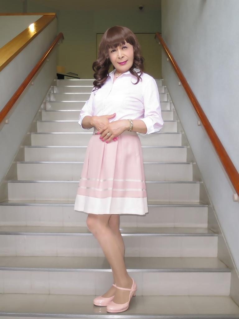 ピンクシャツスカートC(3)