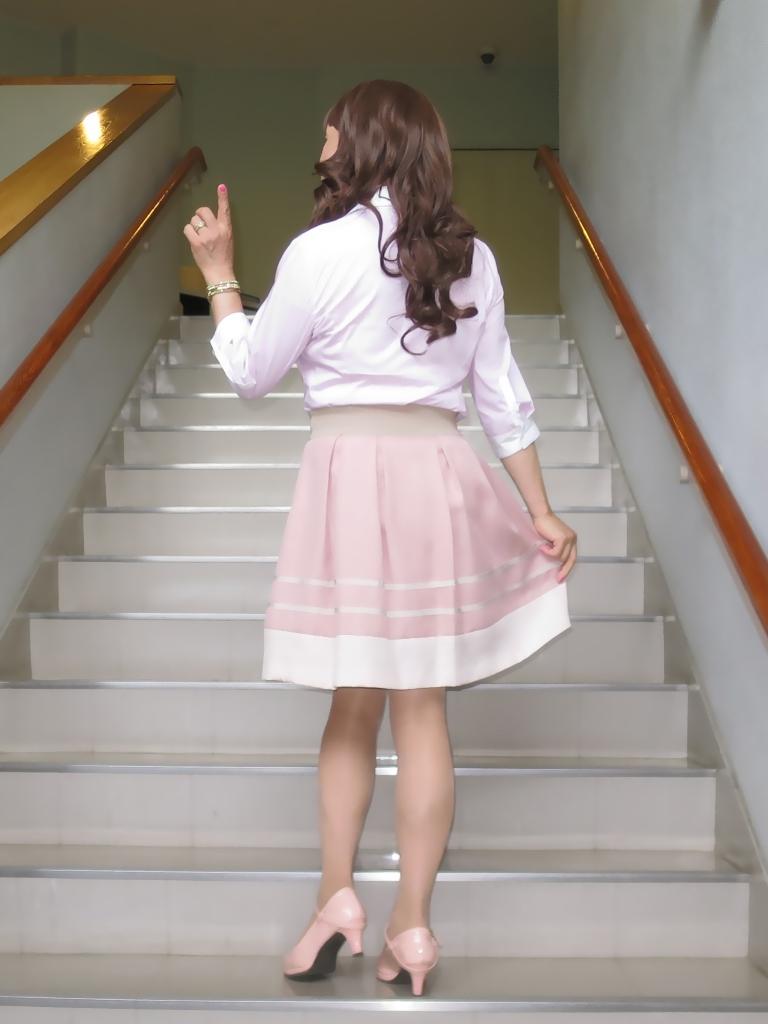 ピンクシャツスカートC(4)