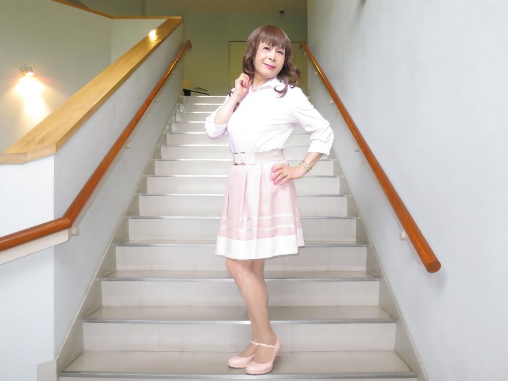 ピンクシャツスカートC(5)