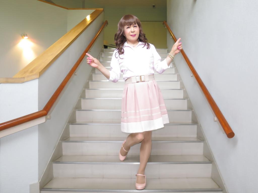 ピンクシャツスカートC(6)