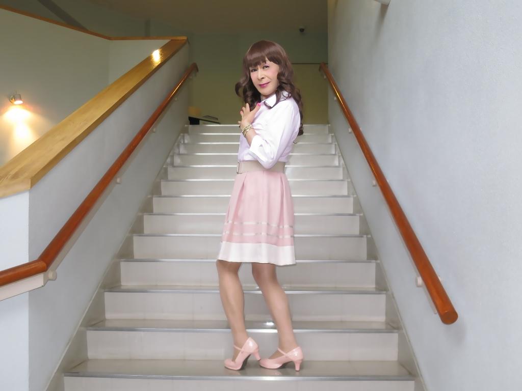 ピンクシャツスカートC(7)