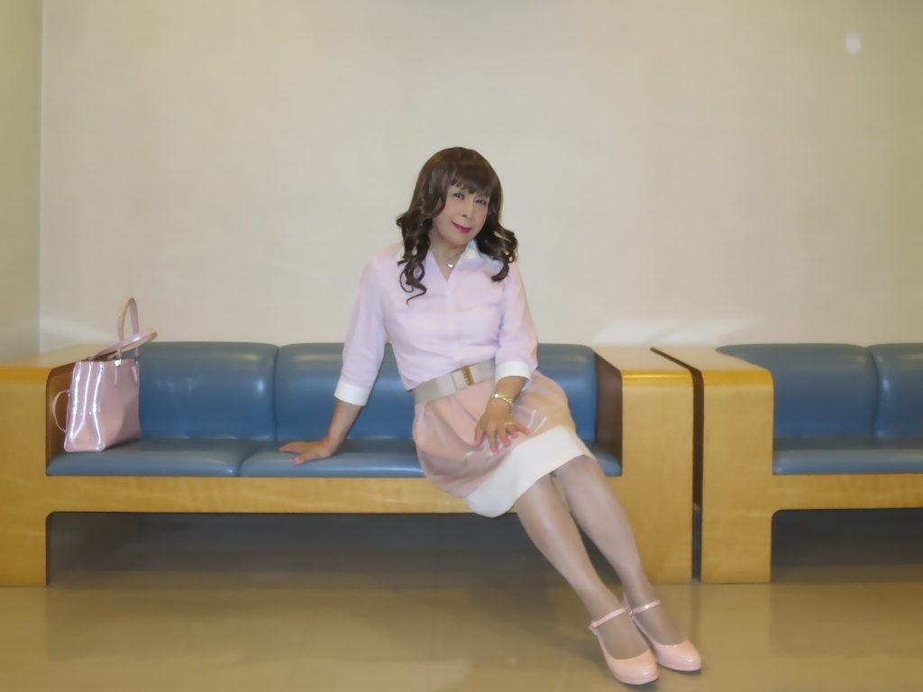 ピンクシャツスカートC(10)