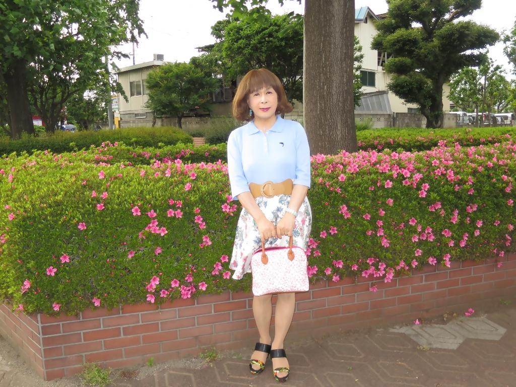 水色ポロシャツA(3)