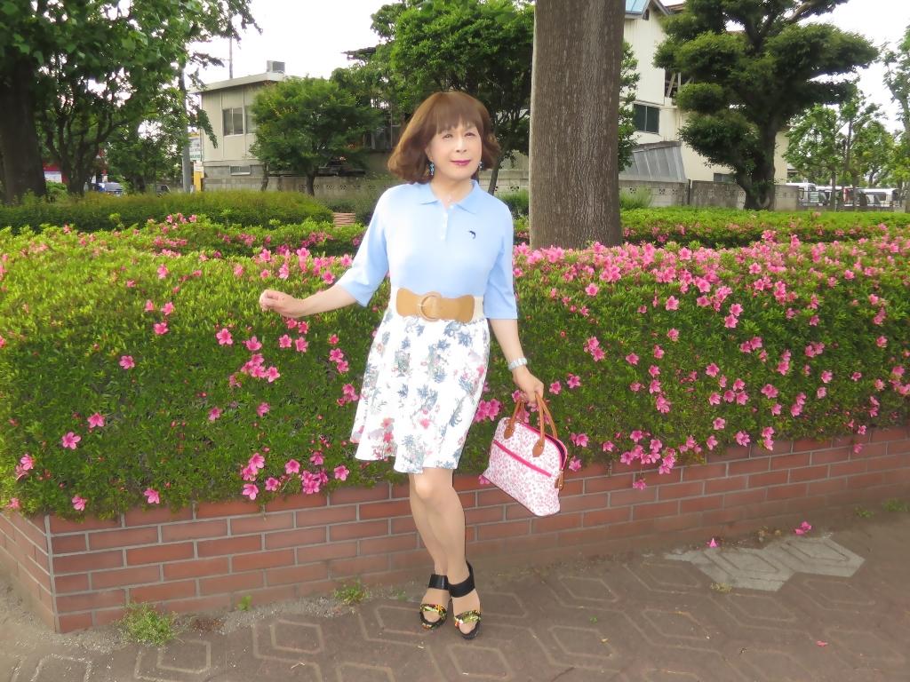 水色ポロシャツA(4)