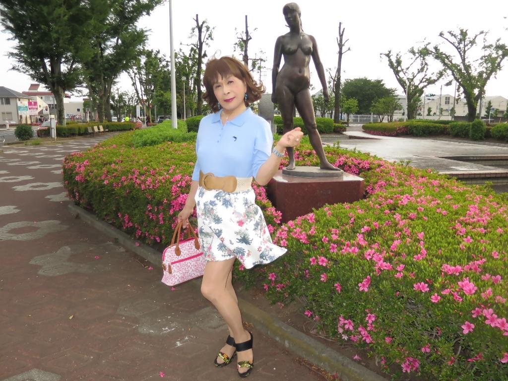 水色ポロシャツA(5)