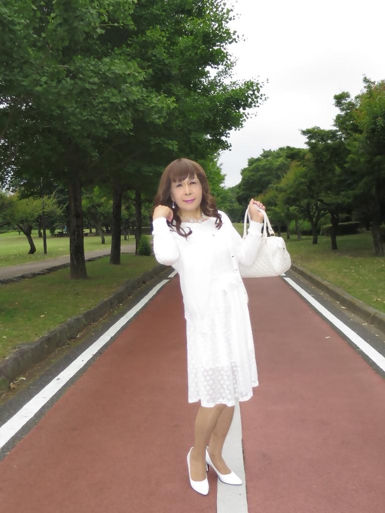 白レースワンピA(4)