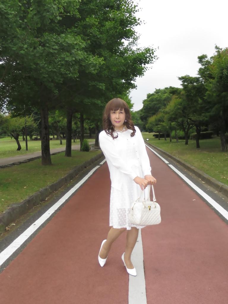 白レースワンピA(2)