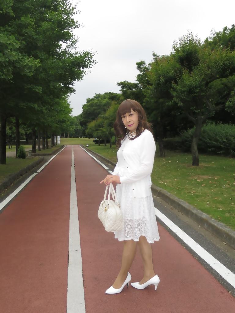 白レースワンピA(5)