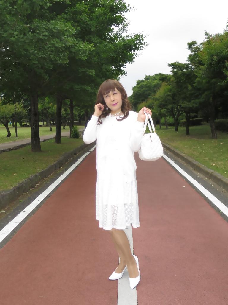 白レースワンピA(3)